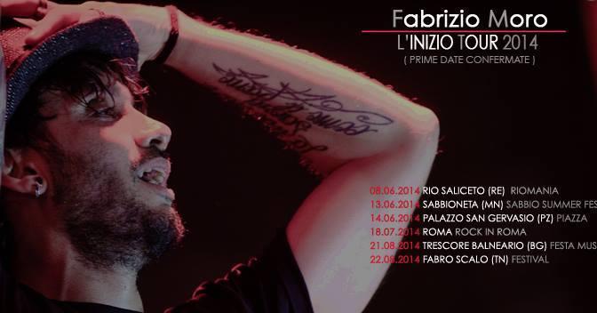 """""""L'INIZIO TOUR 2014"""" – Prime date confermate"""